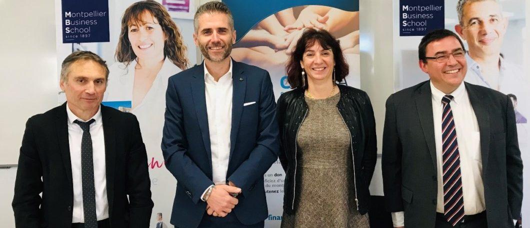 Montpellier Business School s'engage, auprès de CREALIA Occitanie, en faveur des entreprises innovantes régionales