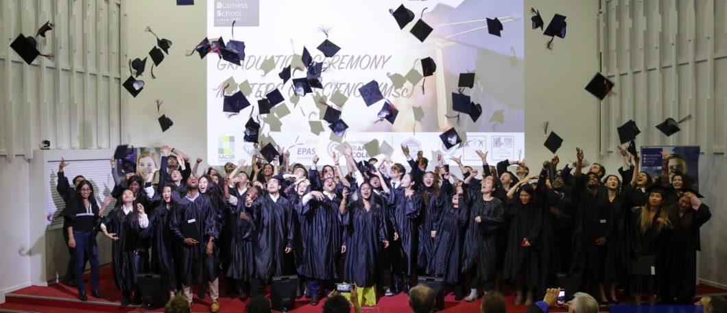 Cérémonie de remise des diplômes Masters of Science 2019