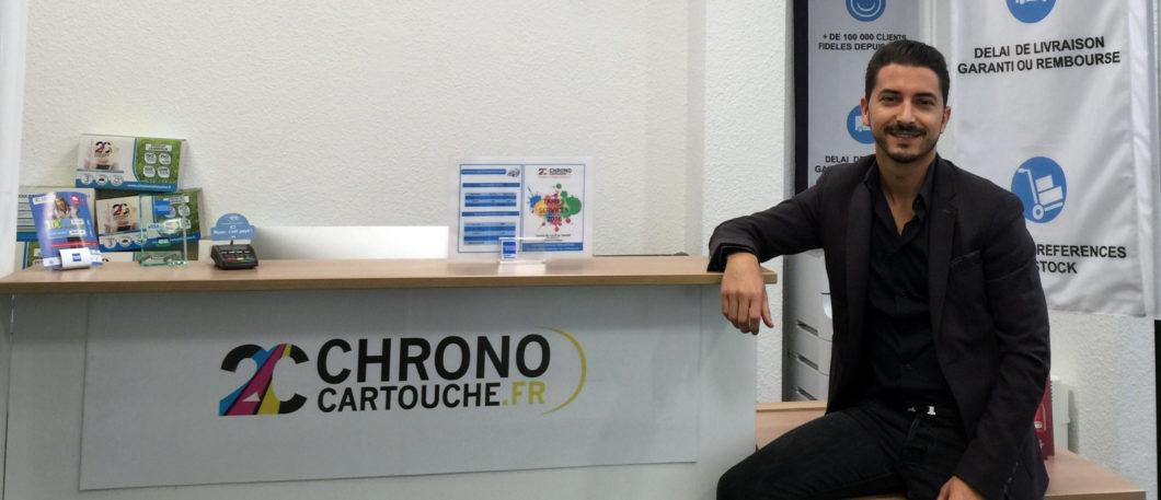 """Idriss Reggad, diplômé 2012 et Serial Entrepreneur"""", innove cette fois-ci pour sa première start-up Chrono Cartouche"""