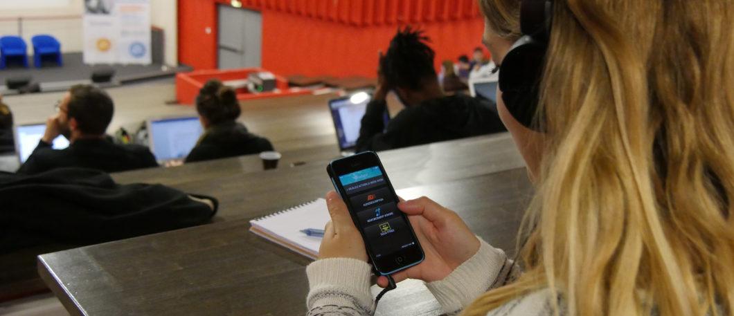 Un pas de plus vers l'accessibilité à Montpellier BS avec l'installation d'un dispositif d'écoute pour les malentendants
