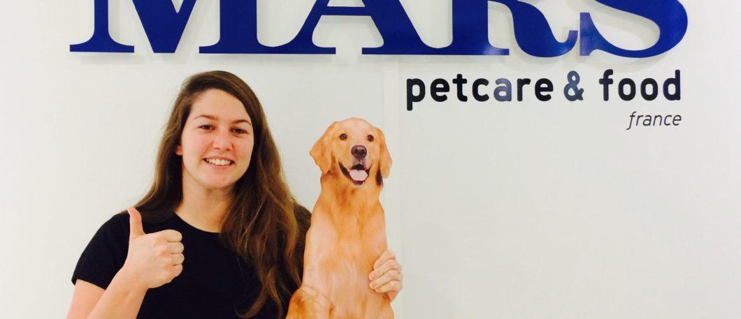 Diplômée 2012 Montpellier BS et chef de marque chez Mars France, Anaïde Piau est devenue la reine des friandises… pour les humains comme pour les animaux !