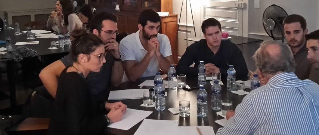 Une quinzaine d'étudiants du programme STRATME'UP chez le leader français des vins de terroir