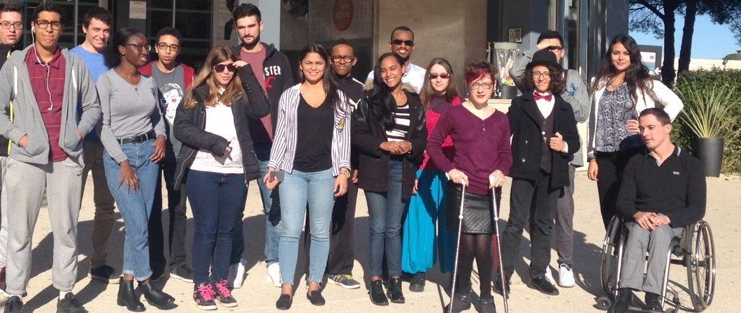 Pour la 5ème année, les étudiants de Montpellier BS accompagnent des élèves en situation de handicap via le programme de tutorat PHARES