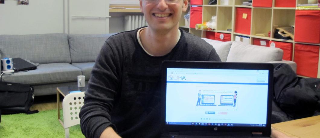 « Aujourd'hui, un CV et une lettre de motivation ne suffisent plus à sélectionner le bon profil » Julien Marque, diplômé Master 2014 lance Liha, l'appli web qui compte révolutionner le recrutement