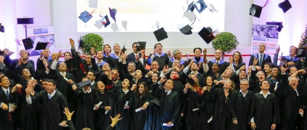 Une cérémonie de remise des MBA sous le signe de la diversité des parcours et de la fraternité des pays du pourtour méditerranéen !
