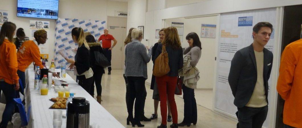 Montpellier Business School au plus proche des lycéens et des étudiants dans l'accompagnement de leur projet académique et professionnel !