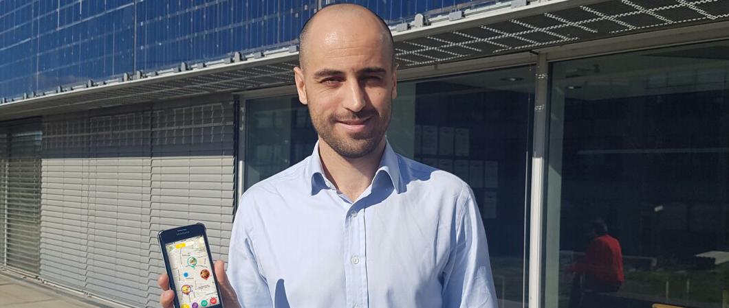 « Bien entreprendre, c'est avant tout travailler en équipe ! » témoigne Mohammed, diplômé 2011 et fondateur de l'application Youalacarte, bientôt en service sur Montpellier !