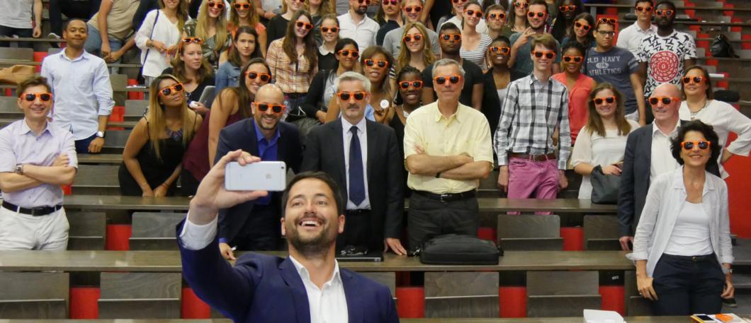« L'entreprise de demain sera digitale ou ne sera pas » : GFI, le nouveau Grand Partenaire de MBS présente sa vision de la transformation digitale à nos étudiants !