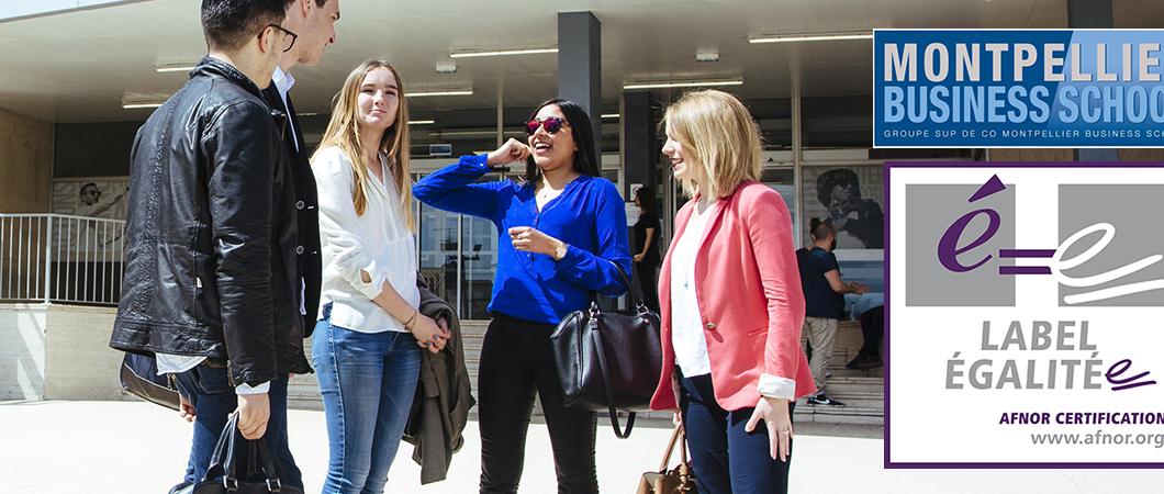 Montpellier Business School devient le 1er établissement d'enseignement supérieur à obtenir le Label Egalité professionnelle entre les femmes et les hommes