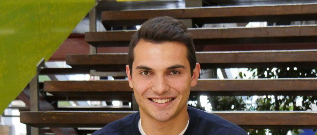 Programme BIBA, volley-ball et alternance… Soit le trio gagnant de Loïc, étudiant en dernière année de Bachelor à MBS