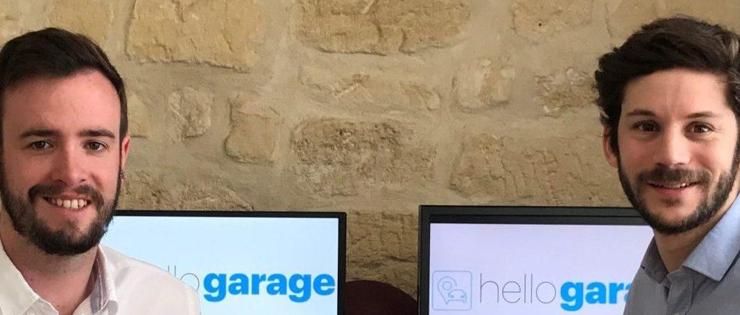 Diplômés Master 2016, François et Morgan lancent leur start-up baptisée Hello Garage