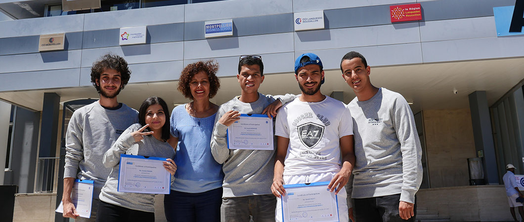 « 3 semaines d'ouverture internationale » Les étudiants du lycée Jules Guesde témoignent de leur participation à la Summer School 2017 de MBS