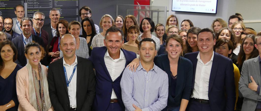 Montpellier Business School passe le cap des 100 alternants chez Adecco, 1er Grand Partenaire de MBS