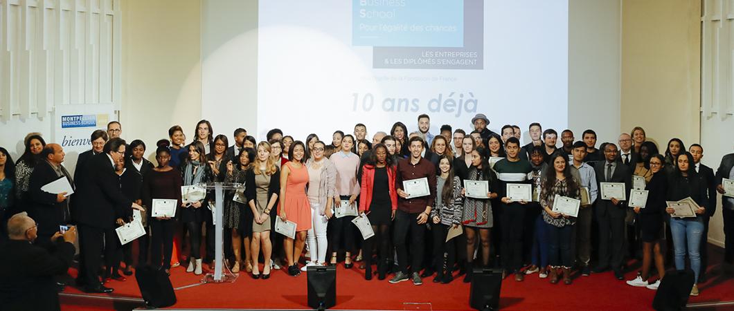 Un 10e anniversaire synonyme d'ambition renforcée pour la Fondation Montpellier Business School pour l'égalité des chances
