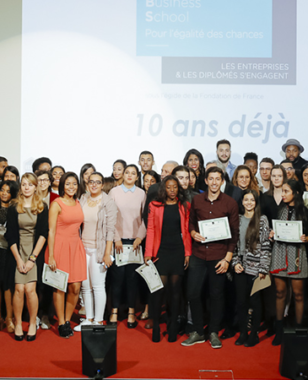 A 10th anniversary synonymous with the reaffirmed ambitions of the Montpellier Business School Foundation for Equal Opportunities