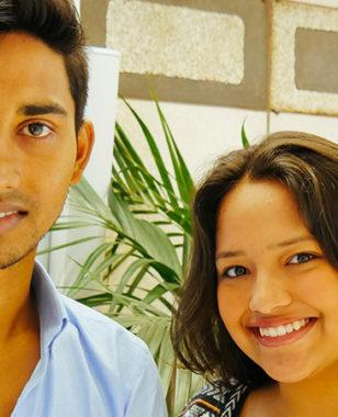 Meeting with Carolina and Atik, the MBS Foundation' new international scholarship recipients