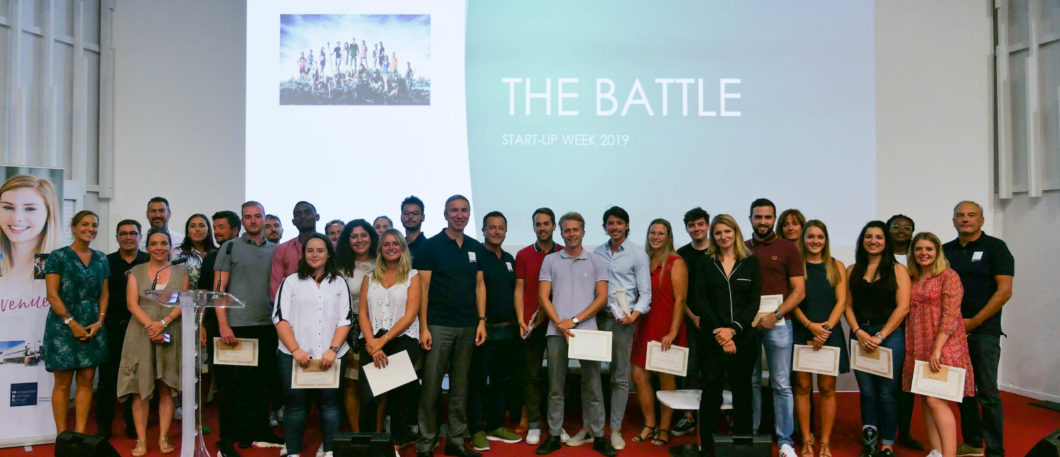 """Entrepreneurship & sport: a look back on the 1st week of the """"outdoor"""" themed """"Start-Up Week"""", sponsored by Private Sport Shop"""