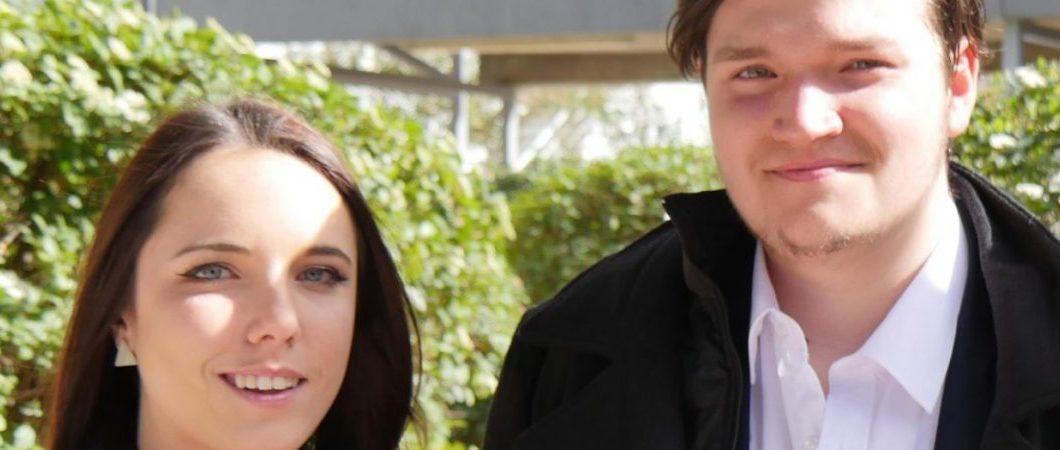 Johanna et Gianni – candidats Bachelor – concours d'admission