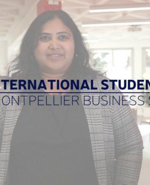 Vidya, MBS international student (India) - MSc in Digital Management