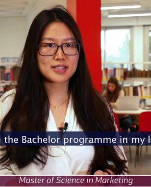 Xu Liang, MBS international student (China) - MSc in Marketing