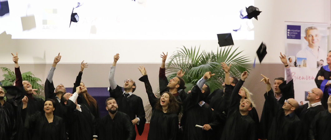 Executive MBA – Review of the 2018 graduation ceremony
