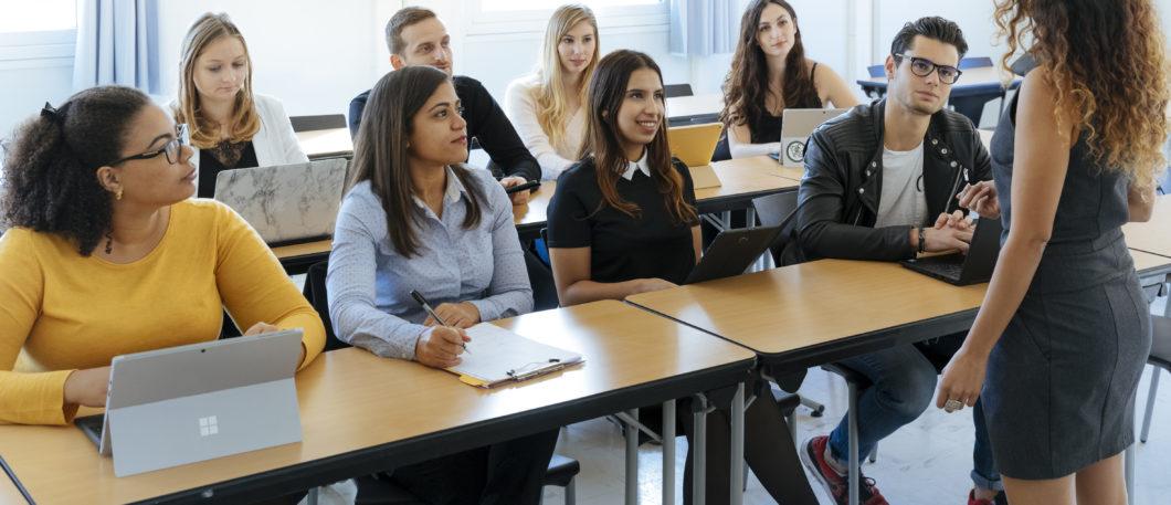 De Londres à Montpellier, le Professeur « globe-trotter » Joe Shami enseigne le management des projets internationaux aux étudiants du programme Bachelor