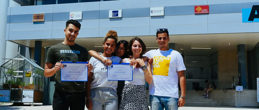 5 étudiants du lycée Jules Guesde invités à participer à la Summer School 2018 de MBS