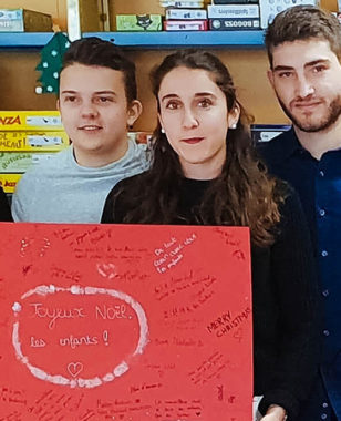 Solidarity week – MBS students showed a strong mobilization for hospitalized children