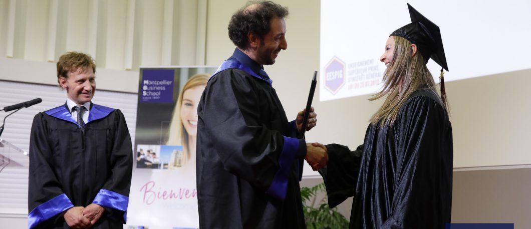 Cérémonie 2019 de remise des diplômes – Masters of Science