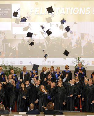Cérémonie de remise des diplômes MBA - Promotion 2019