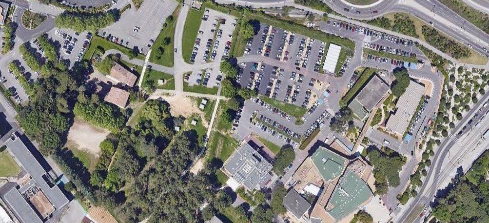 Plan d'accès au campus principal de MBS à Montpellier