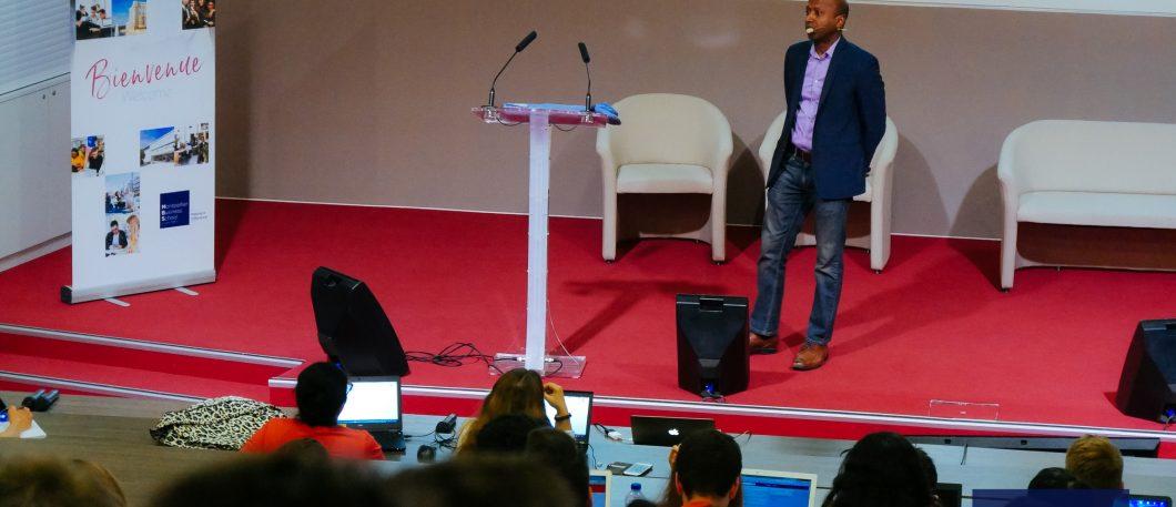 Navi radjou conferenece, frugal innovation specialist