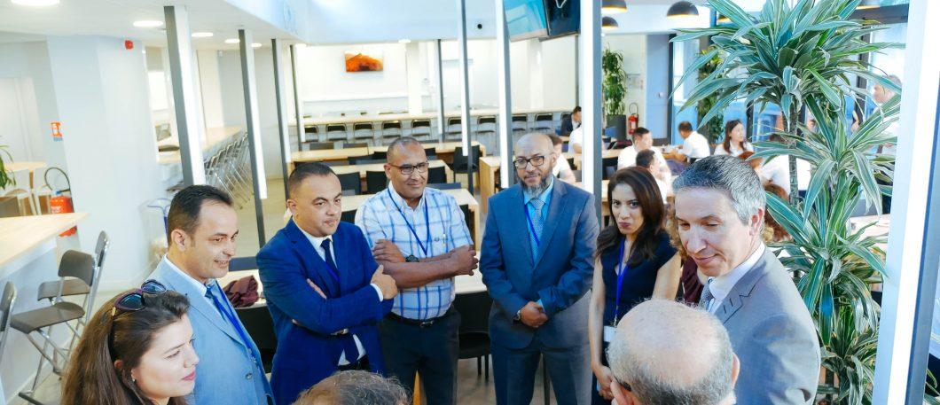 Visites des participants aux DBA Tunisie & Chine