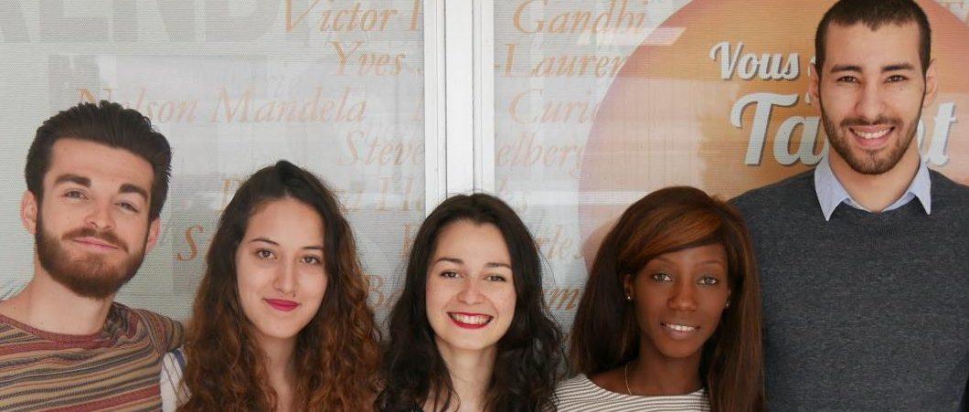Cécile – deuxième année Bachelor – projets académiques