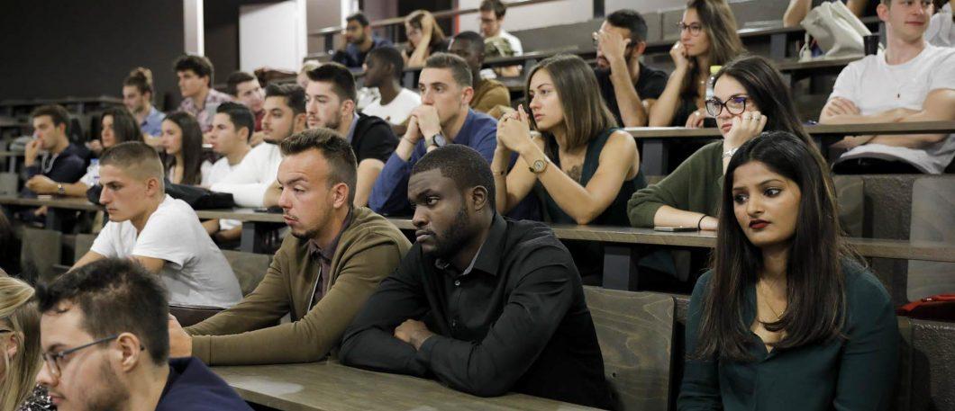 Rentrée des étudiants en Bachelor L3 par alternance