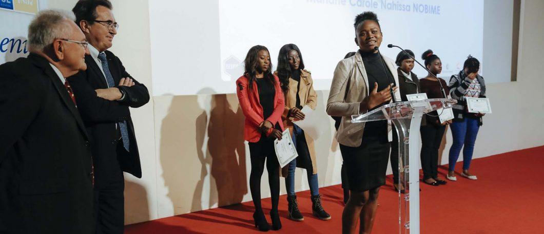 Scholarship award ceremony