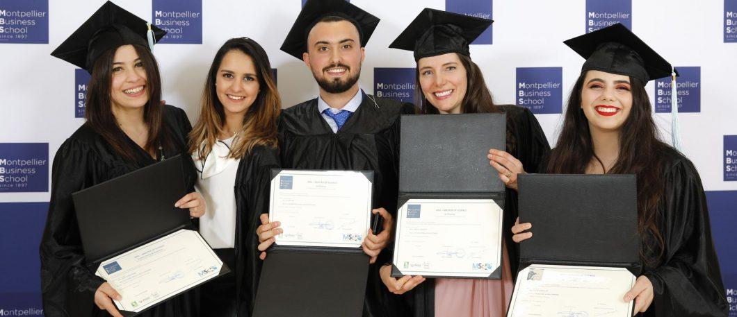 Cérémonie des Masters of Science 2018