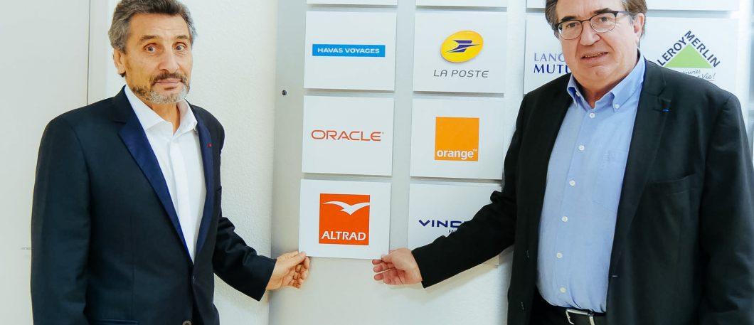 Signature grand partenariat et Conférence Mohed Altrad