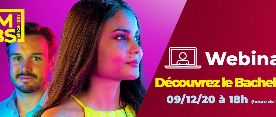 Webinar – Découvrez le Programme Bachelor (09/12)