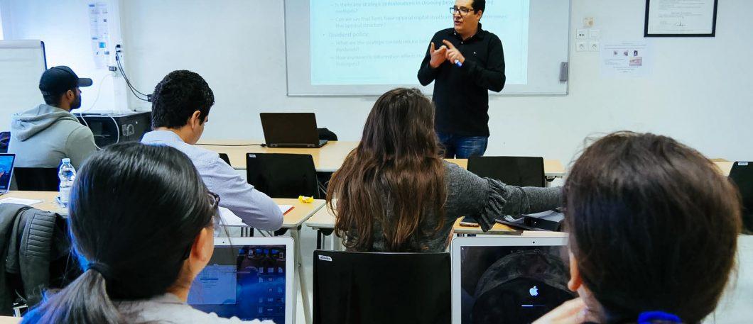 Cours MSc in Finance avec Dr Moez Bennouri