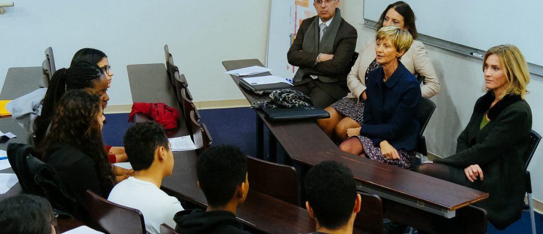 Visite de Madame le Recteur de l'Académie de Montpellier