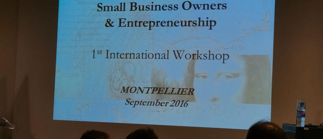 Séminaire Health of Small Business Owners/Entrepreneurs
