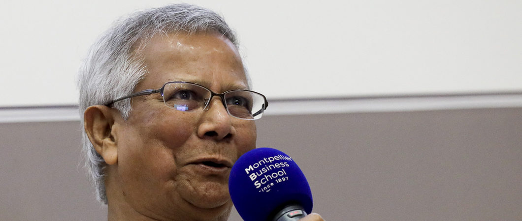 """Inauguration du """"Yunus Centre for Social Business  and Financial Inclusion"""""""