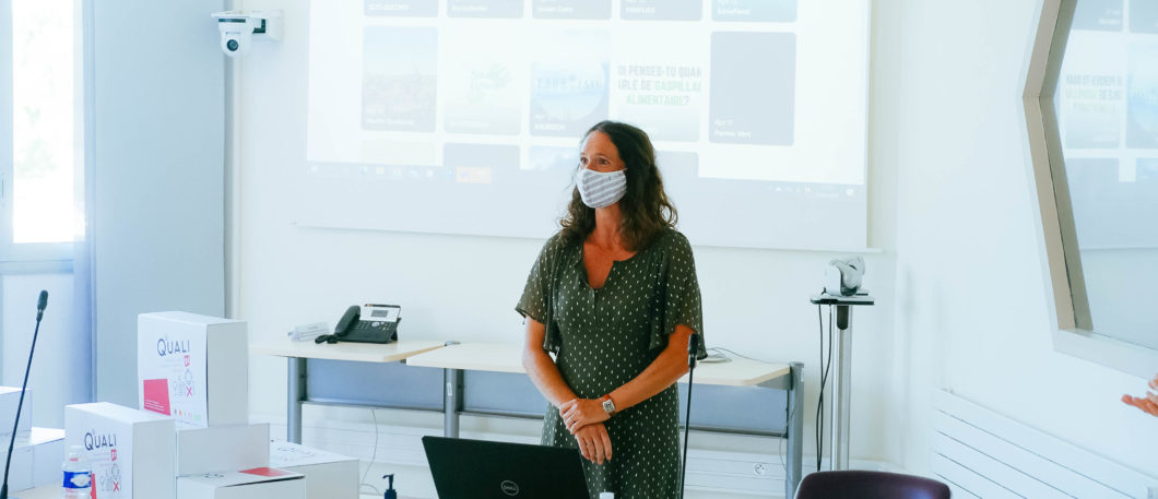 Challenge ODD – remise des prix avec Irqualim